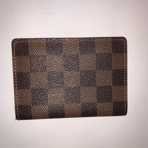 ❌ SOLD ❌ Louis Vuitton Wallet / Card Holder EUC